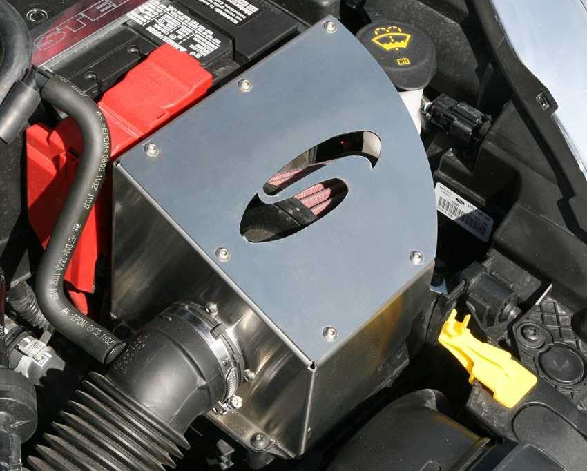 Fiesta Mk7 Steeda Cold Air Intake Scc Performance