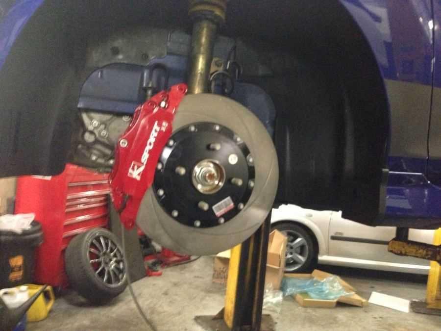 Ebc Brake Pads >> Fiesta ST 2013 KSport 6 Pot Brake Kit 304mm x 28mm - SCC ...