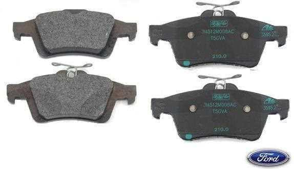 genuine ford focus st rear brake pads - scc performance