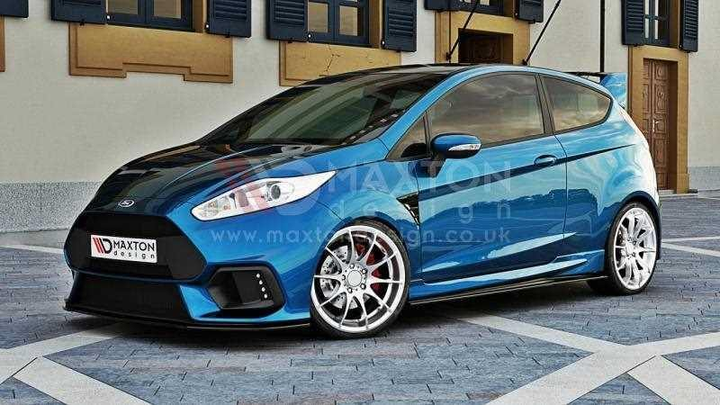 Front Splitter Fiesta Mk7 2013 On Maxton Rs Scc Performance