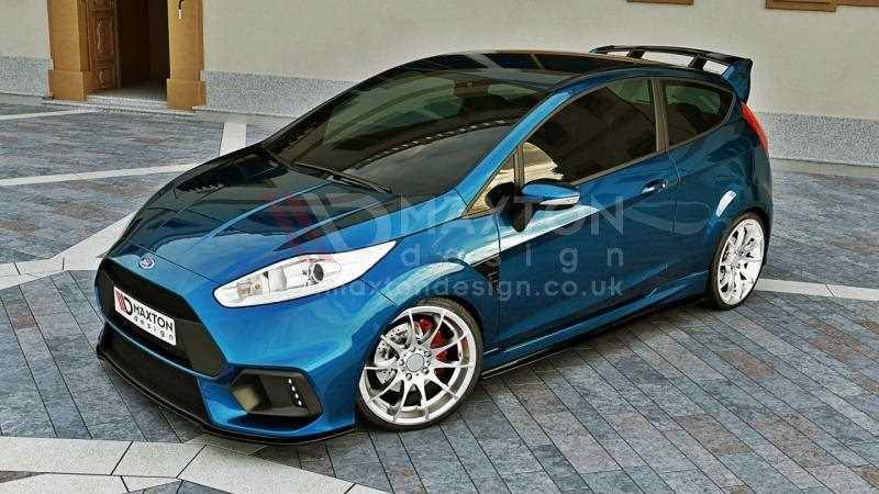 front splitter fiesta mk7 2013 on maxton rs scc performance. Black Bedroom Furniture Sets. Home Design Ideas