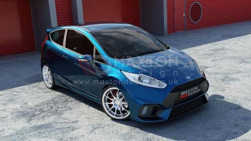 front bumper fiesta mk facelift focus rs   scc performance