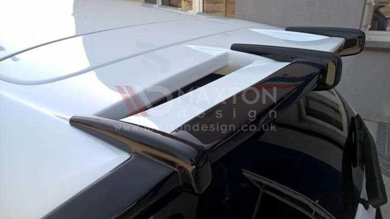 Roof Spoiler Extension Ford Fiesta Mk7 St Zetec S Facelift Primer Painted Scc