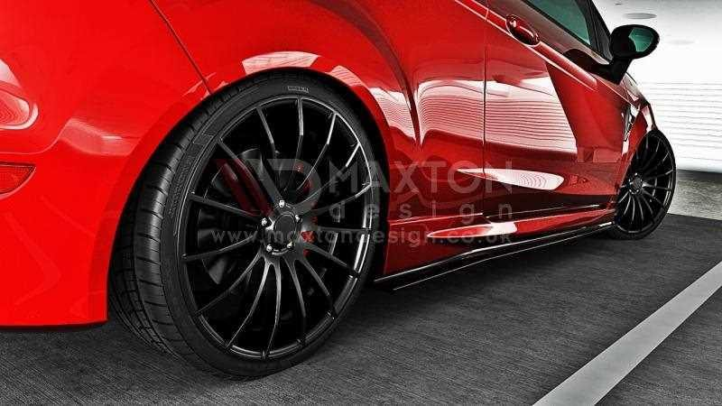 Ford Transit 250 >> Side Skirts Diffuser Ford Fiesta MK7 Facelift ST - SCC ...