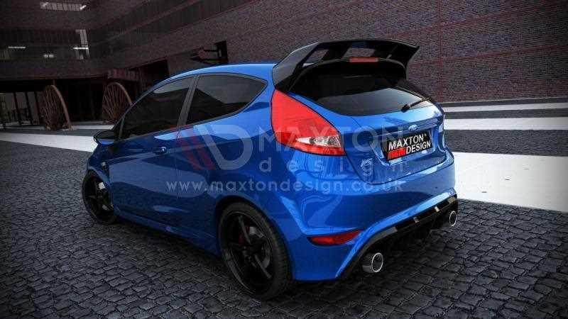Rear Bumper Ford Fiesta Mk 7 Facelift Focus Rs Look