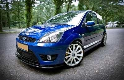 Ford Fiesta St150 Mk6 Front Splitter Scc Performance