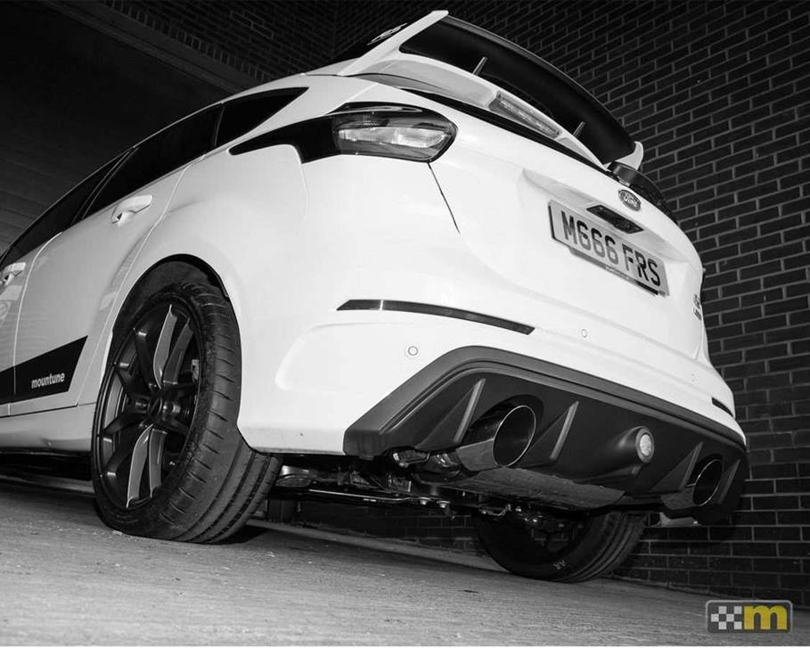 focus rs mk3 mountune axle back exhaust scc performance. Black Bedroom Furniture Sets. Home Design Ideas