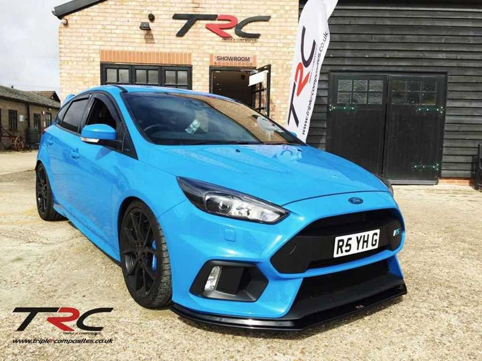 ford focus rs mk3 triple r composites front splitter scc. Black Bedroom Furniture Sets. Home Design Ideas
