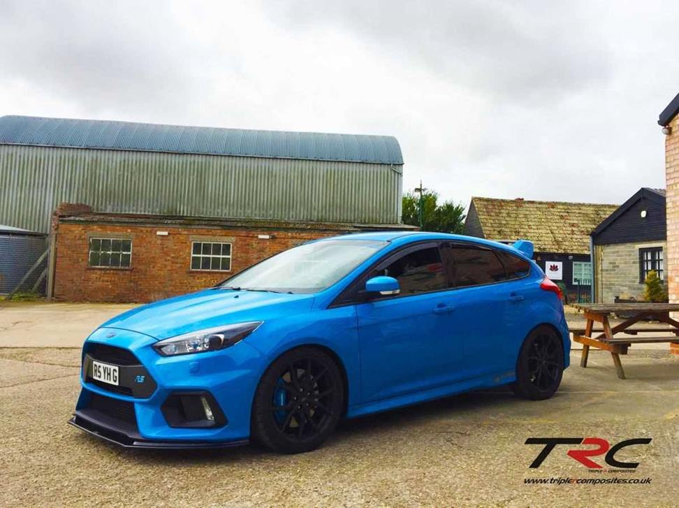 Ford Focus Rs Mk3 Triple R Composites Front Splitter Scc