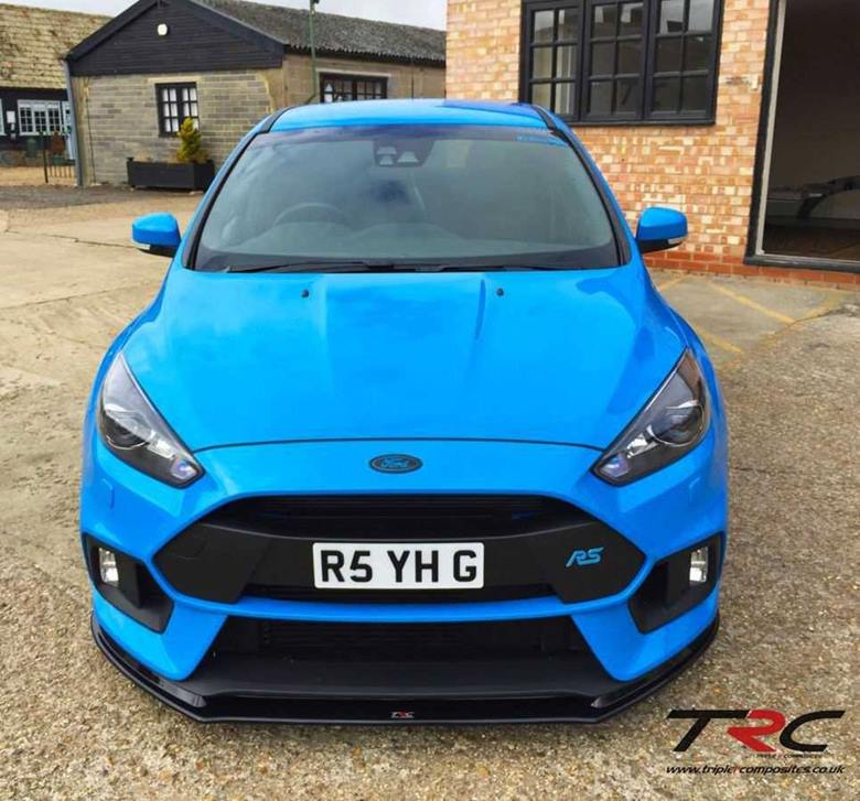 Ford Transit Connect >> Ford Focus RS Mk3 Triple R Composites Front Splitter - SCC ...