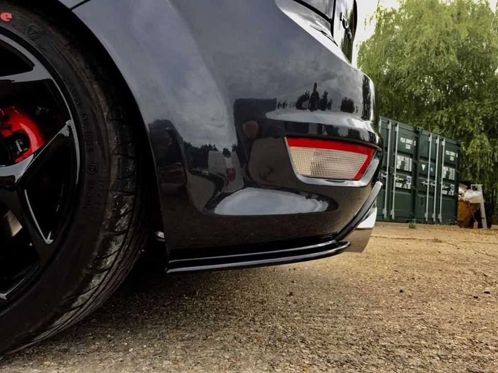 Focus Mk2 5 Face Lift St225 Rear Spats Scc Performance