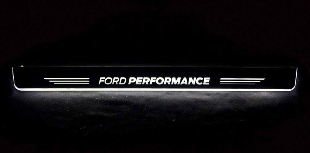 Enhanced Illuminated Door Sill Protectors Ford Performance Edition Fiesta Mk7 Scc Performance
